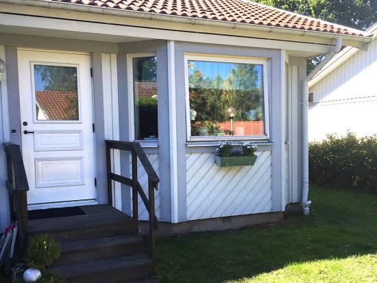 Hus i Gate